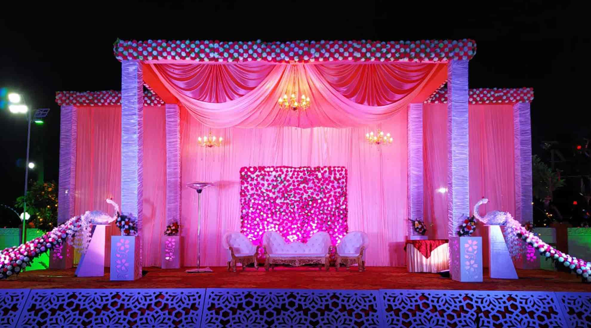 Best decoration at utsav marriage garden bhopal
