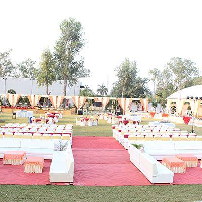 Best decoration for wedding ceremony in Bhopal - Utsav Marriage garden