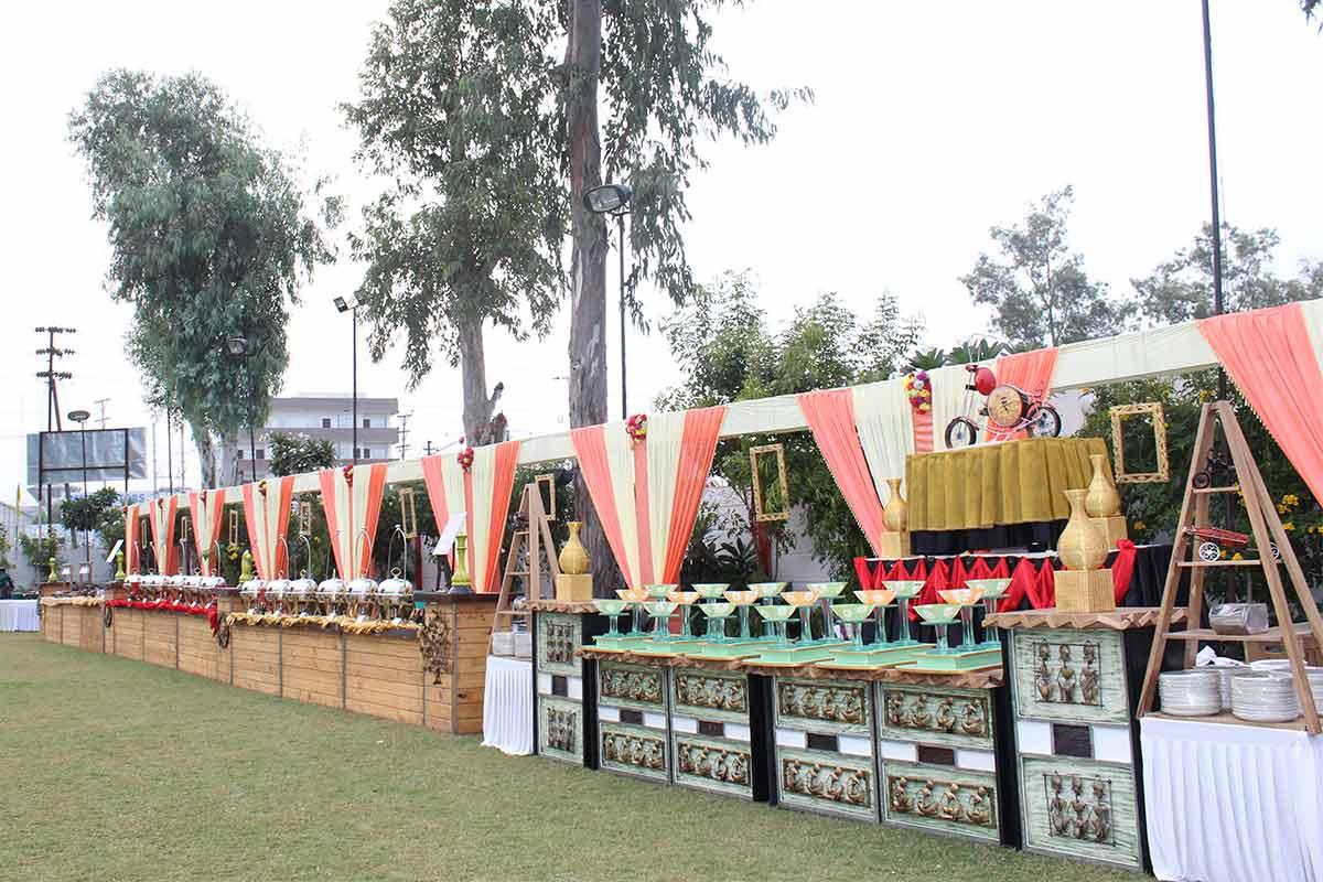 Food Stall Decoration