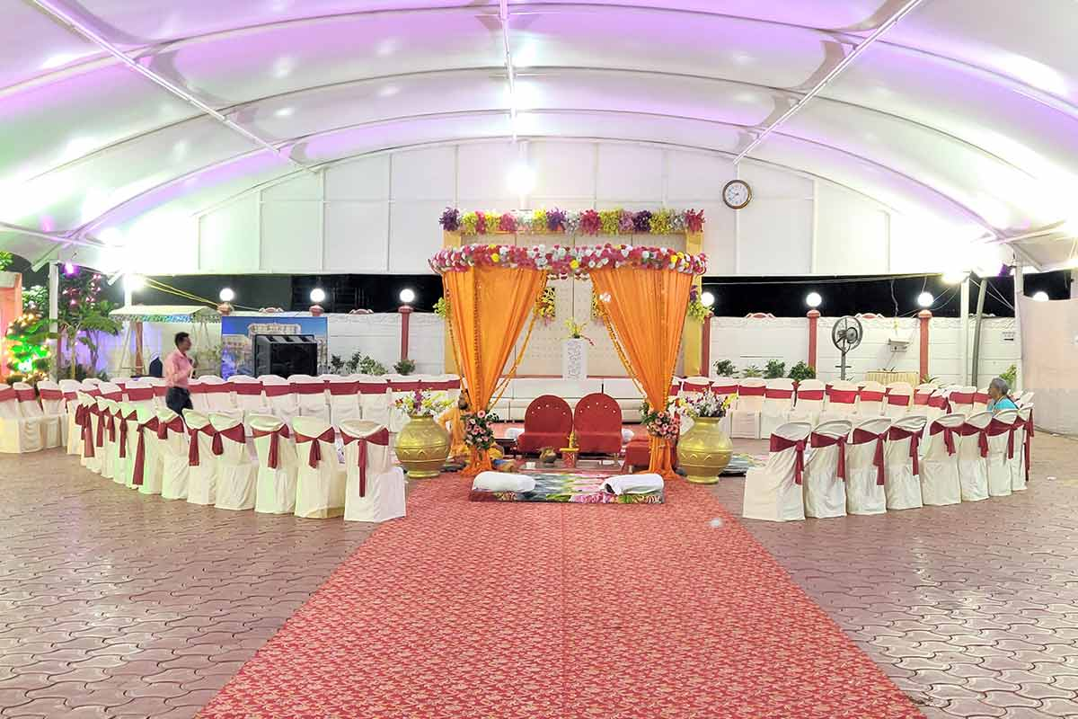 Mandap in Dome