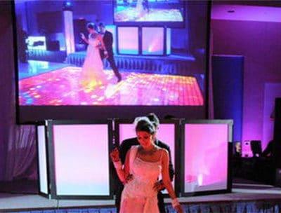 LED display walls for wedding in Bhopal - Utsav Marriage Garden