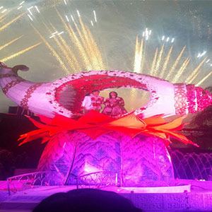Best venue for Varmala Ceremony in Bhopal - Utsav Marriage Garden