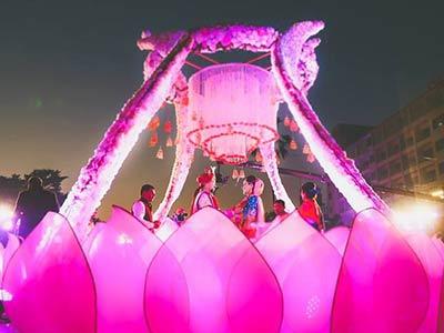 Best venue for Varmala Ceremony in Bhopal - Utsav Marriage Garden